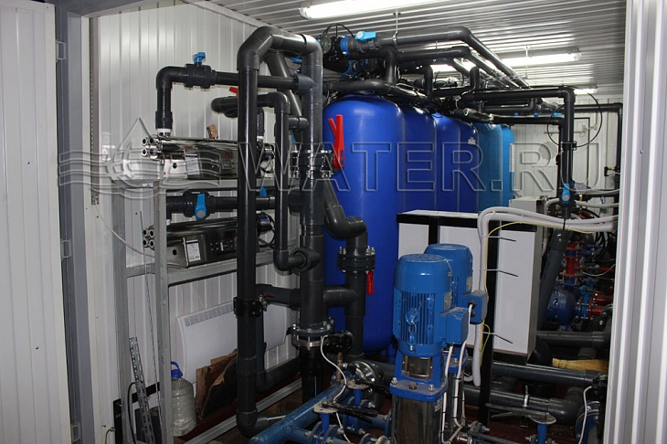 модульная система водоподготовки